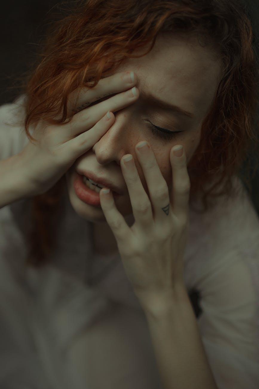 adult alone despair emotion